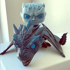 Game of Thrones Funko! Pop - Night King & Viserion
